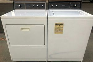 Kenmore black top and bottom washer and dryer for Sale in Ceres, CA