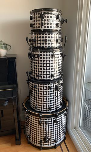 DRUM SET! Nice used PDP partial set [No additional equipment, just the drums and heads] for Sale in San Francisco, CA