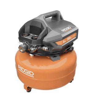 RIDGID 6 Gal. Portable Electric Pancake Air Compressor for Sale in Atlanta, GA