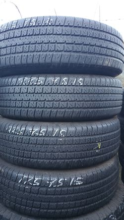 225/75/15 Excellent Carlisle TRAILER TIRES for Sale in Chula Vista,  CA