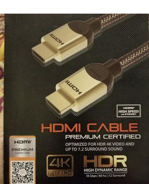 Hdmi cord 4ft, 6ft, 10ft, 12ft, 15ft for Sale in Atlanta, GA