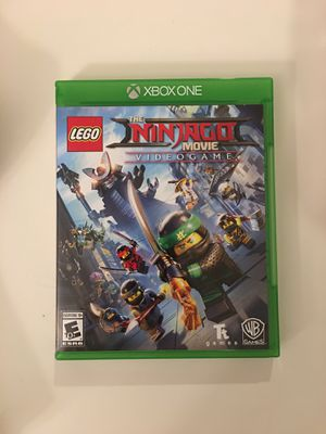 Lego the Ninjago movie video game Xbox One for Sale in Lake Forest, CA