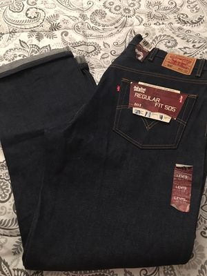New Levi's 505 Raw denim and crisp size 40x32 give me a offer for Sale in Los Angeles, CA