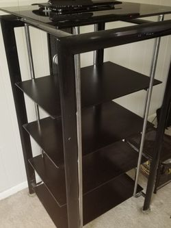 $40 OBO - TV Stand/shelves/Bluray Storage for Sale in Denver,  CO