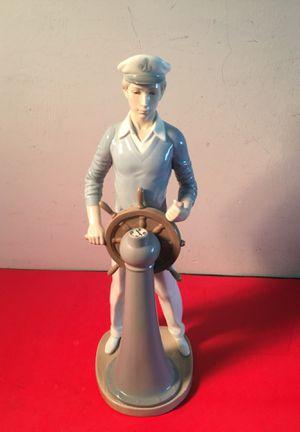 Lladro #5206 sailor at wheel figurine for Sale in Pompano Beach, FL