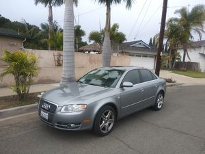 2007 AUDI A4 4CYL, AUTOMATIC, TITLE AND CURRENT REGISTRATION CARD IN HAND, RUNS GOOD! HABLO ESPAÑOL for Sale in San Diego, CA