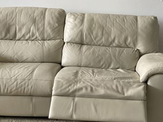 Electric Recliner Leather Sofa for Sale in Tampa,  FL