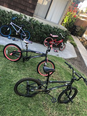 4 kids bikes $25/each or all for $80 for Sale in National City, CA