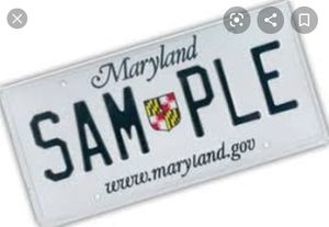 Need Tags, Title or registration for MD, VA, DEL for Sale in Glyndon, MD