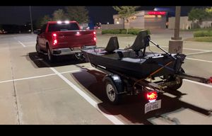12 Ft Custom John Boat with Trailer for Sale in Red Oak, TX