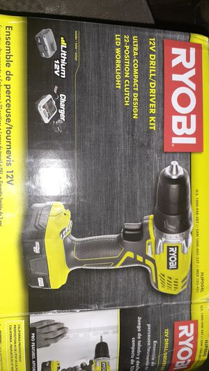 Ryobi Drill Brand New for Sale in San Antonio, TX