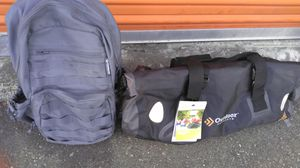 Tactical backpack and duffle bag for Sale in Puyallup, WA