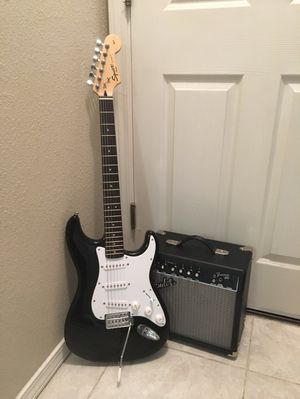 Fender Squire and Amp for Sale in Fresno, CA