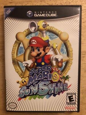Super Mario Sunshine Nintendo GameCube Game Used for Sale in SSL, UT