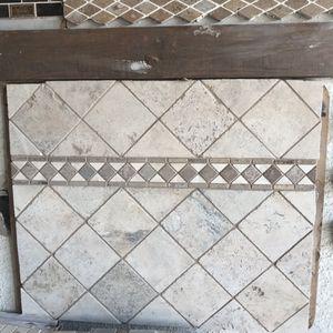 Travertine backsplash tiles for Sale in Dallas, TX