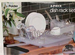 Kitchen Dish Rack Stainless Steel Para secar Platos Polder 4 piece for Sale in Doral, FL