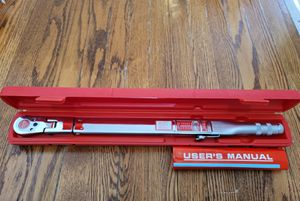 """SNAP-ON *EXCELLENT!* 1/2"""" DRIVE TQFR250C """"FLEX"""" TORQUE WRENCH! 50-250 ft lb. Condition is """"excellent"""". for Sale in South Riding, VA"""