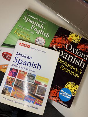 Spanish Dictionaries & Phrase Books for Sale in Lubbock, TX
