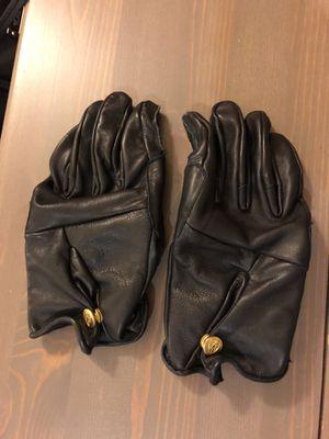 Abel Brown Leather Gloves - Black (medium) for Sale in Philadelphia, PA