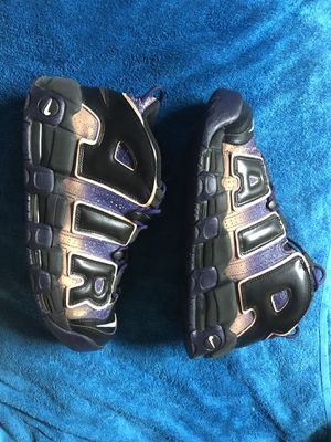 Air More Uptempo Dusk To Dawn sz 12 for Sale in Stone Mountain, GA