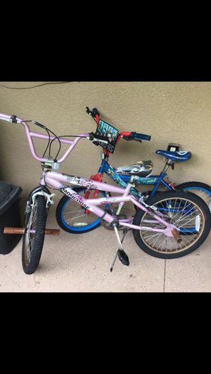 Mongoose &Advengers bike for Sale in Wesley Chapel, FL