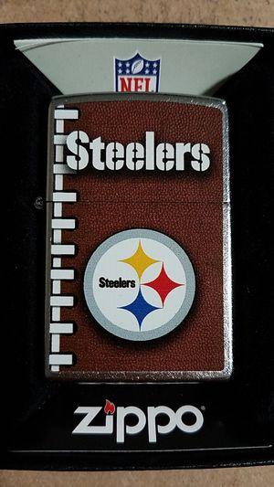Zippo NFL Pittsburgh Steelers street chrome 72473 for Sale in Los Angeles, CA