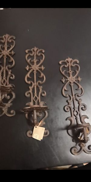 Very beautiful rustic candle holders wall decor for Sale in Lombard, IL