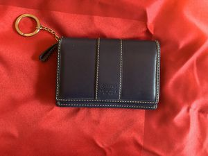 Blue Leather Coach Wallet - $25 for Sale in Longmont, CO