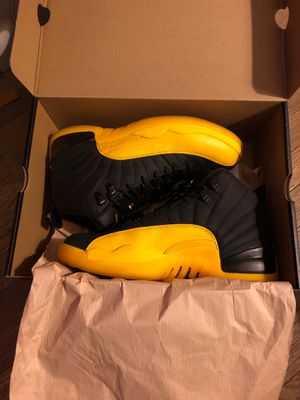 Jordan 12 retro University gold for Sale in Los Angeles, CA