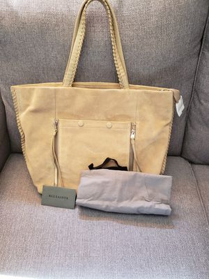 Tan suede tote for Sale in Phoenix, AZ