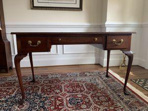 """Ladies antique desk. Refinished Biggs furniture of Virginia. 50""""w x24""""d x30h $300.00 for Sale in Midlothian, VA"""