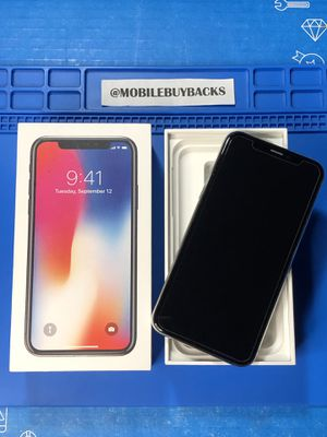 Apple iPhone X 256gb AT&T/T-Mobile for Sale in Fresno, CA
