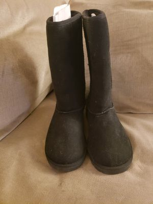 Girls Black Boots size 4 for Sale in Malden, MA
