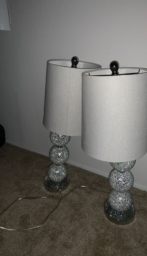 Target Large Stacked Ball Table Lamps for Sale in Costa Mesa, CA