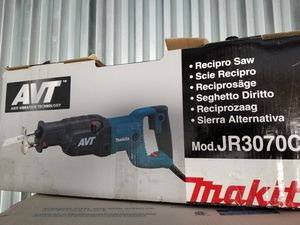 Makita Recipro Saw JR3070CT for Sale in Pittsburgh, PA