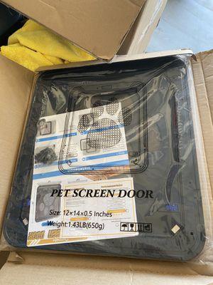 New pet screen door (12x14) for Sale in Murrieta, CA