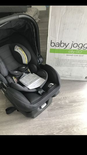 Brand New Baby Jogger City Go car seat with NEW City Mini stroller attachments for Sale in Hercules, CA