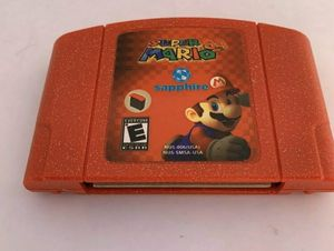 Super Mario 64 Sapphire Video Game For Nintendo N64 for Sale in Lowellville, OH