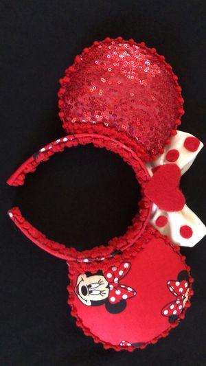 Custom Disney Minnie Ears for Sale in Los Angeles, CA
