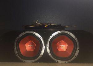 "Dual 1100W Peak Power Sony 10"" Subs Custom Sub Box For 350z for Sale in Visalia, CA"