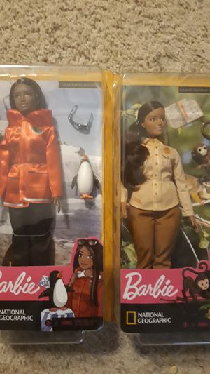 2 National geographic barbies for Sale in New Lenox, IL