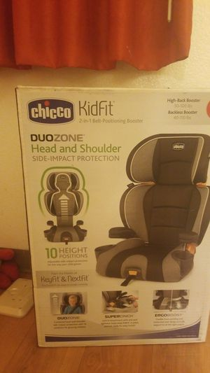 Chicco kid fit booster seat for Sale in Brentwood, CA