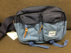 NEW w/Tags HERSCHEL fanny pack Eighteen Waist Pack Sling Blue Navy for Sale in Walnut, CA