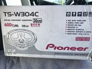 """12"""" Subwoofer for Sale in Ontario, CA"""