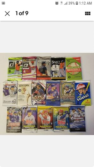 Cheap Contemporary Baseball Card Re Pack Mega Value!! for Sale in Oakland Park, FL