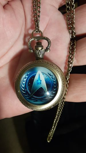 Star trek collectable pocket watch from personal collection for Sale in New Port Richey, FL