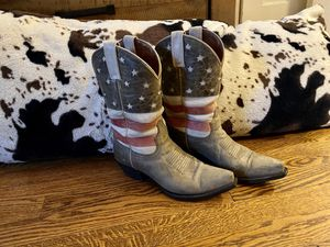 Women's Cowboy boots American Flag themed for Sale in St. Louis, MO