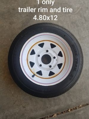 Trailer rim and tire. 1 only for Sale in Murrieta, CA