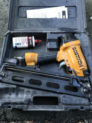 Bostitch finish nail gun for Sale in Somerville, MA
