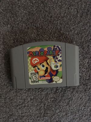 Mario party N64 for Sale in Boonton, NJ